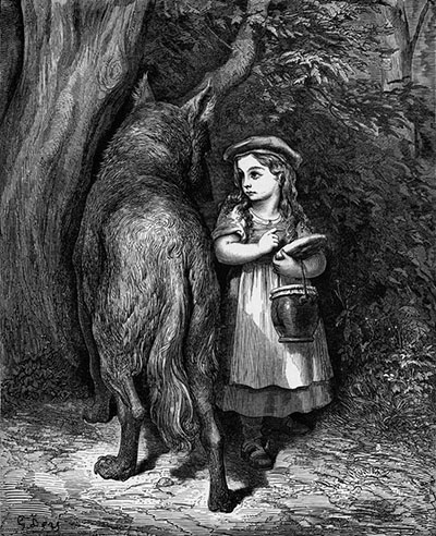 Little Red-Riding-Hood (Gustave Dore)